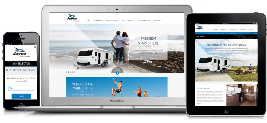 Jayco Australia website