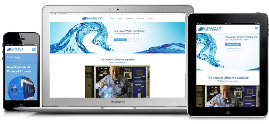Unipolar Water website